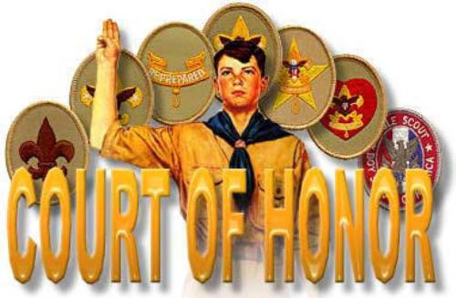 Image result for boy scouts court of honor